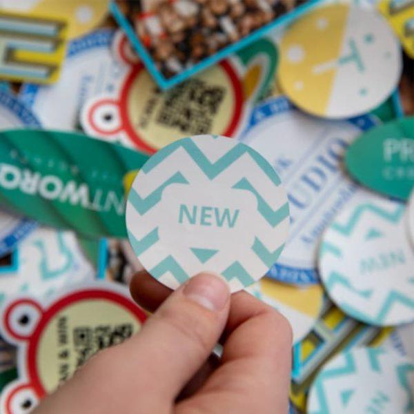 kleine stickers, stickers,