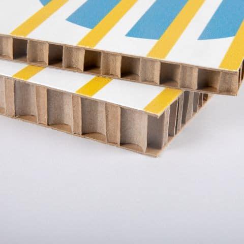 re-board display karton, 3d karton honinggraad